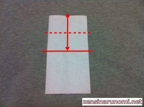 家の折り紙の折り方04