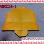クリスマスのベル!折り紙での作り方(折り方)は?