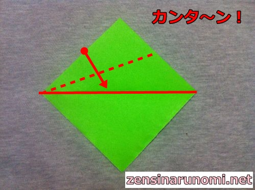 クリスマスの折り紙(リース)03