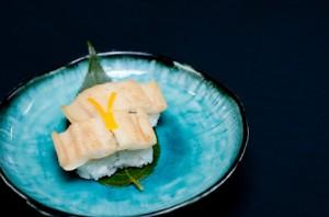穴子の白焼きのお寿司