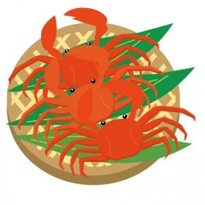蟹(カニ)のイラスト