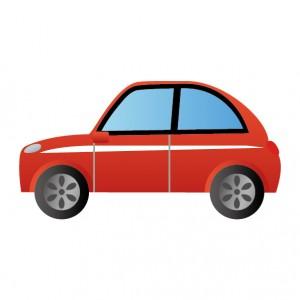 車(クルマ)のイラスト