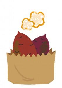 焼き芋 温め直し レンジ